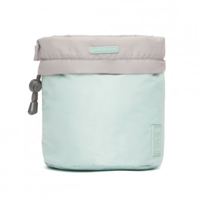 Portable Wash Bag Frosted Blue - Fashionalia