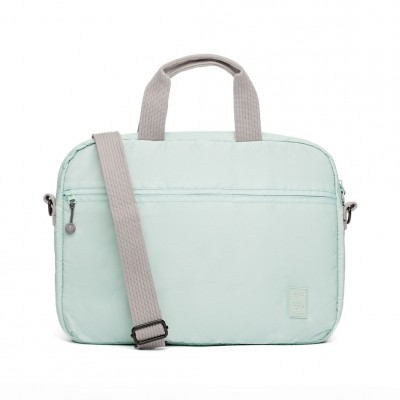 15'' Laptop Briefcase Frosted Blue - Fashionalia