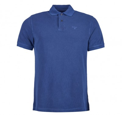 Polo Sports logo bordado Azul