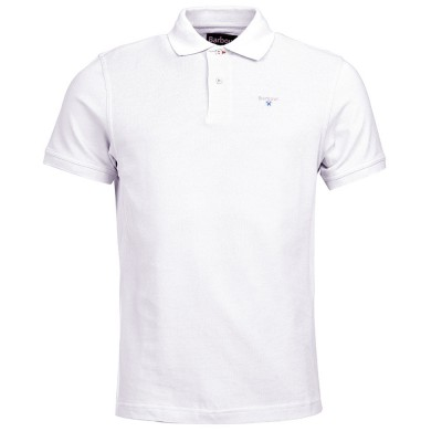 Polo Sports Liso Blanco - Fashionalia