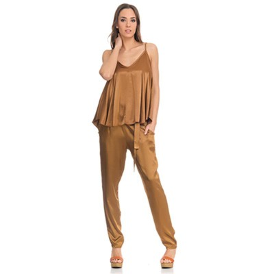 Satin Flight Top Gols - Fashionalia