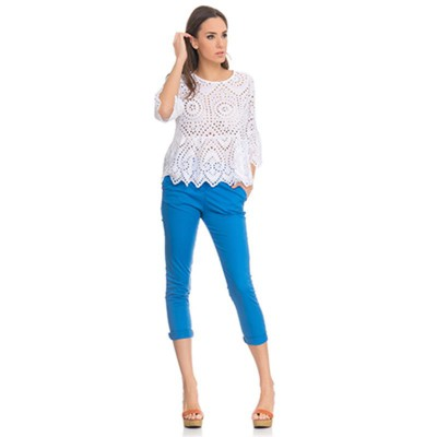 Batista top with Flight White - Fashionalia