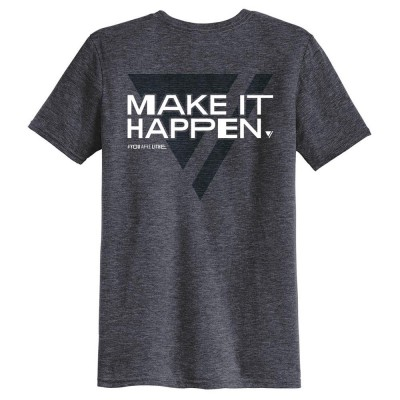 CAMISETA triblend / MAKE IT HAPPEN [HOMBRE] - Fashionalia