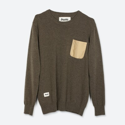 Jersey Essential Olive - Fashionalia
