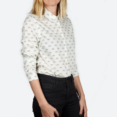 Blusa Estampada Fixed Gear - Fashionalia