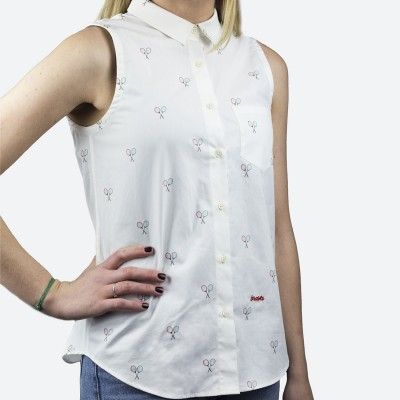 Blusa Estampada Tennis Match - Fashionalia