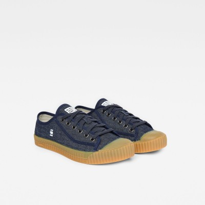 Rovulc Roel Low Sneakers (Dark Navy) (8714)