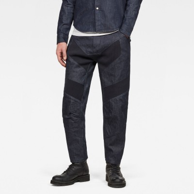 Raw Essentials Motac-X 3D Tapered Cropped Jeans - Fashionalia