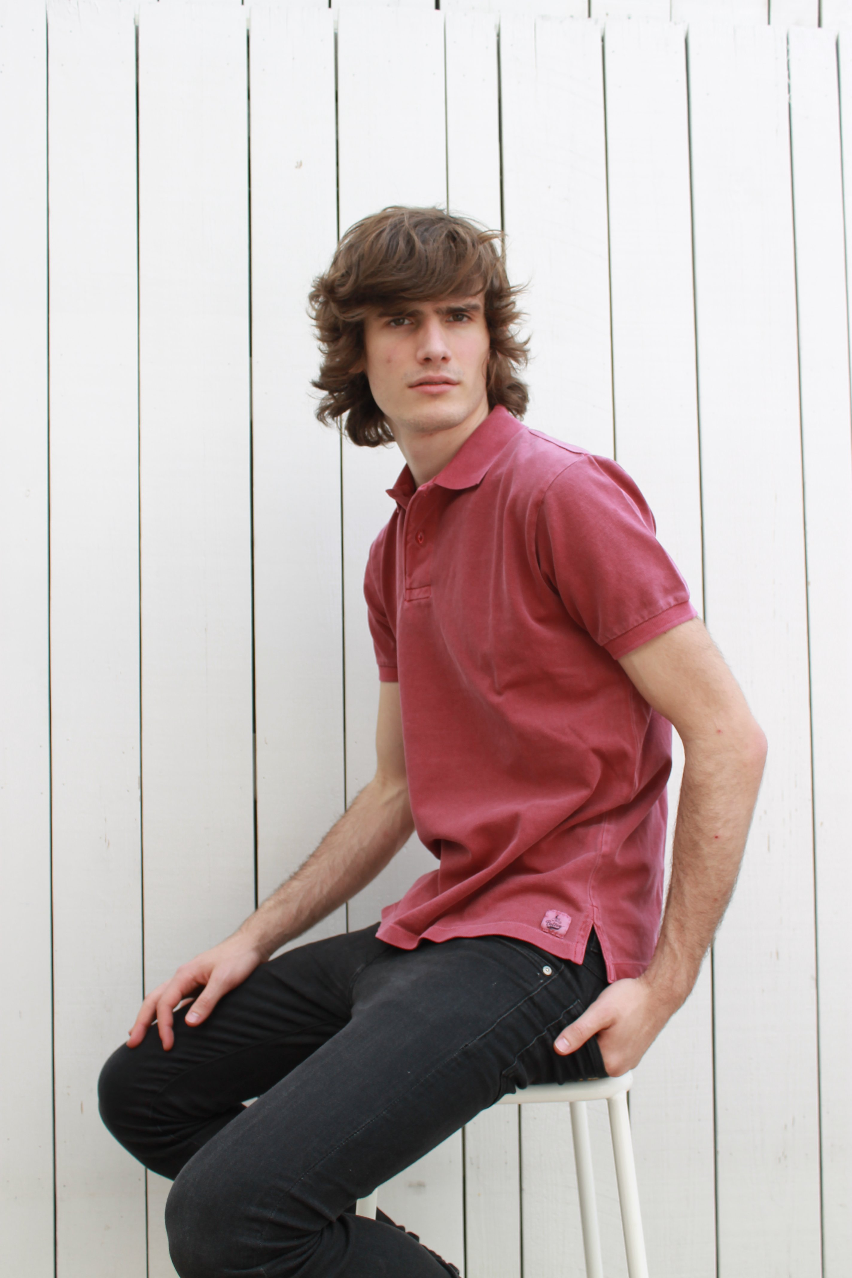 Polo Basic Raspberry - Fashionalia