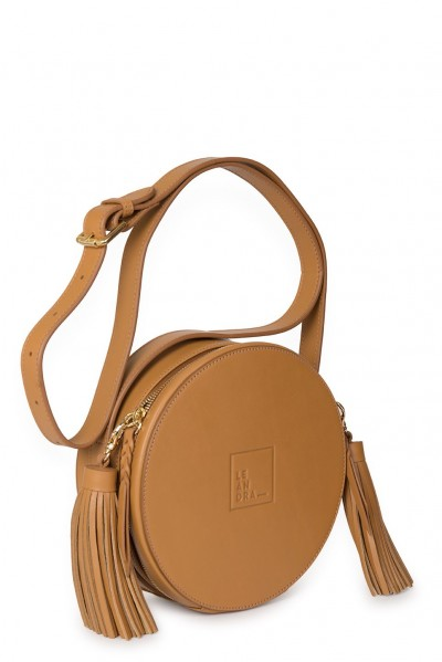Circle Bag scotch de piel Leandra