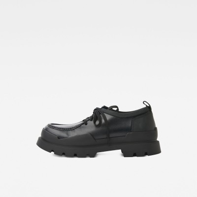 Rackam Wallabee shoes (Black)