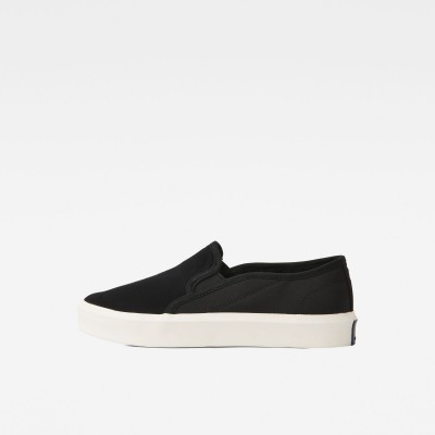 Strett slip on Sneakers (Black)