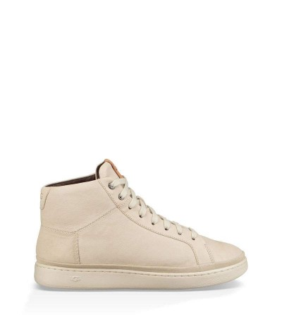 Cali Leather High-Top Trainer