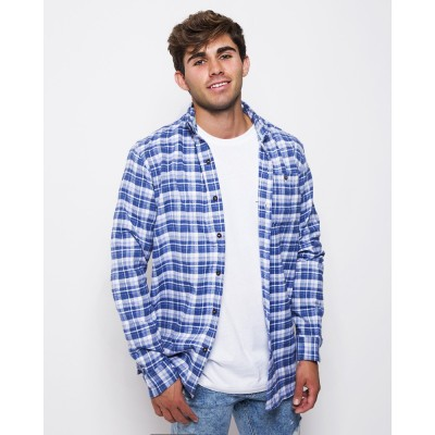 Sequoia Flannel Azul