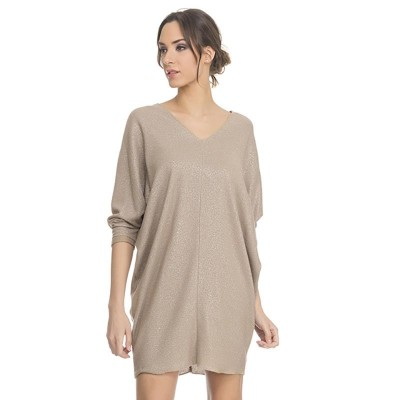 V Neck Lurex dress Gols