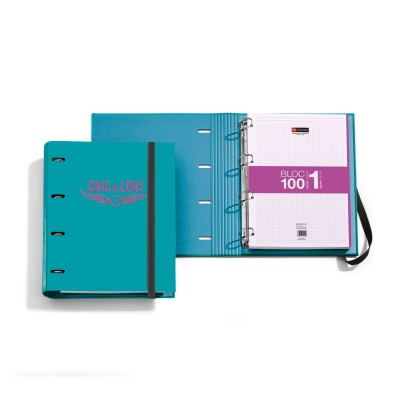 Carpeta Bloc Notebook Azul