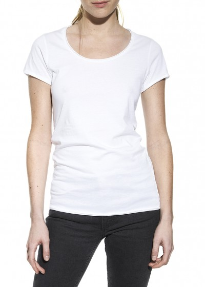 CREW-NECK RELAXED WHITE W
