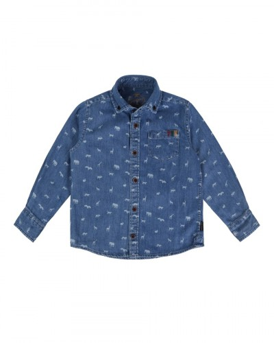 Animal Button Down