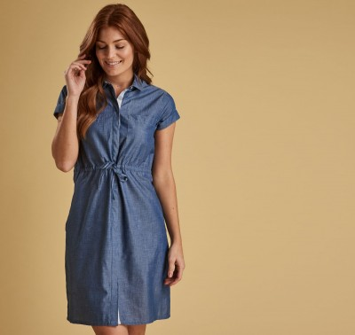 Barbour Wheatsheaf Dress - Denim