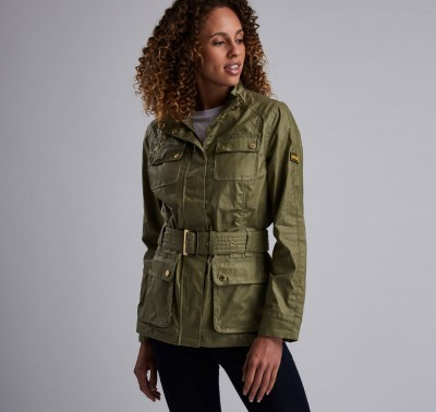 B.Intl Bearings Casual Jacket - Light Army Green